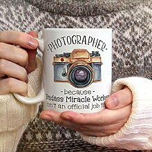 Fotografie-Becher-Becher für Fotograf Badass
