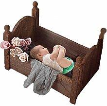 Fotografie-Prop Baby Fotografie Bett, Massivholz