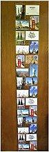 Fotohalter für 28 Fotos Fotovorhang Postkarten im Format 15 cm x 10 cm