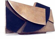 Fotohalter Skulptur aus Bronze von Esa Fedrigolli