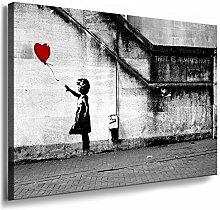Fotoleinwand24 - Banksy Graffiti Art There is