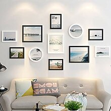 Fotorahmen aus Holz, Wanddekoration, Fotogalerie