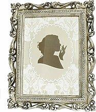 Fotorahmen Bilderrahmen Antik Silber für