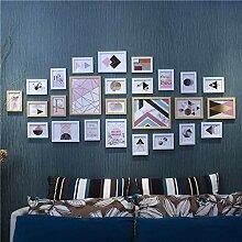Fotorahmen Bilderrahmen-Set 26er-Pack