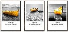 Fotorahmen Bilderrahmen Set 3 Panel Wandkunst