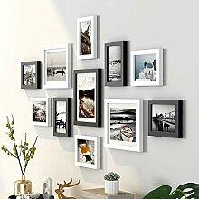 Fotorahmen Bilderrahmen-Set Fotorahmen aus