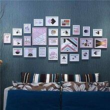 Fotorahmen Bilderrahmen-Set Großes Set mit