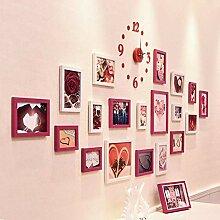 Fotorahmen Bilderrahmen-Set Wandfotorahmen Mehrere
