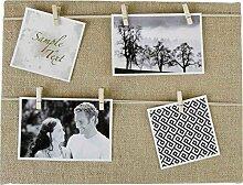 Fotorahmen Fotoleine - toller Familienbilderrahmen
