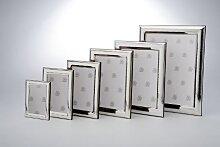 Fotorahmen gehämmert, echt Silber, 6 x 9 cm