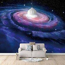 Fototapete 120x100cm Lila Galaxie,Wandbild