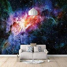 Fototapete 200x140cm Farbe Sternenhimmel,Wandbild