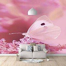 Fototapete 300x210cm Rosa Schmetterling,Wandbild