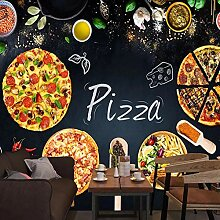 Fototapete 3D 400cmx280cm Leckere Pizza Vlies