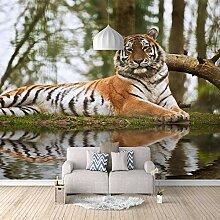 Fototapete 3D Ahnen-Tiger 3D Wandbilder Für