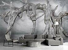 Fototapete 3D Art Tree Roots Wallpaper Wandbild