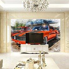 Fototapete 3D Auto Design Tapete Fototapeten Vlies