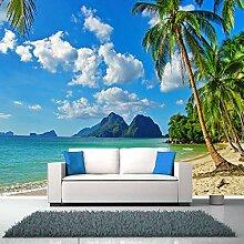 Fototapete 3D Beach Scenery Wandtapete