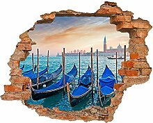 Fototapete 3D Bild Tapete Loch in der Mauer
