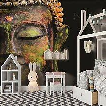 Fototapete 3D Buddha-Statue Tapeten Wohnzimmer