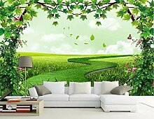 Fototapete 3D Effekt Baumrebe Blüht Grüne