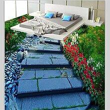Fototapete 3D Effekt Benutzerdefinierte Boden