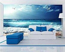 Fototapete 3D Effekt Blauer Himmel Strand Küste