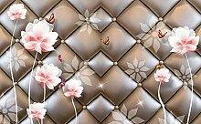 Fototapete 3d Effekt Blume Schmetterling Mit