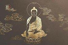 Fototapete 3D Effekt Chinesische Buddha-Statue,