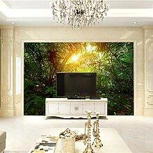 Fototapete 3D Effekt Dschungel Vlies Tapeten