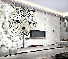 Fototapete 3D Effekt Fashion Leopard Leopard Vlies