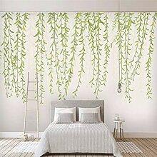 Fototapete 3D Effekt Frische Grüne Blätter