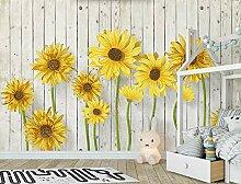 Fototapete 3D Effekt Frische Sonnenblume Des