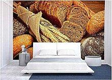 Fototapete 3d Effekt Frischer Brotweizen