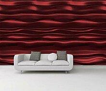 Fototapete 3D Effekt Große Rote Große Purpurrote