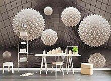 Fototapete 3D Effekt Kugel Wasserwelle Abstrakten