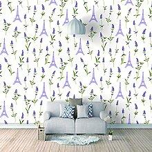Fototapete 3D Effekt Lavendel Vlies Tapeten