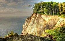 Fototapete 3D Effekt Meeresklippenwald Wandbilder