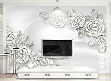 Fototapete 3D Effekt Mode Weiße