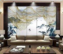 Fototapete 3D Effekt Neue Chinesische Abstrakte