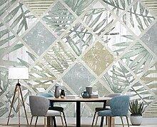 Fototapete 3D Effekt Nordic Tropische Pflanzen