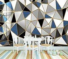 Fototapete 3D Effekt Nordische Diamantgeometrie