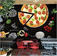 Fototapete 3d Effekt Pizza Burger Restaurant