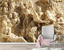 Fototapete 3D Effekt Relief Griechische Zeichen
