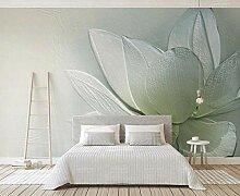 Fototapete 3D Effekt Relief Lotusblume Moderne