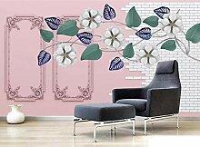 Fototapete 3D Effekt Schöne Blumen Wandbilder