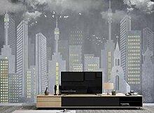 Fototapete 3D Effekt Tapete Abstrakte Graue