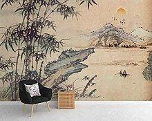 Fototapete 3D Effekt Tapete Bambus Der