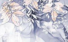 Fototapete 3d Effekt Tapete Blume, Blatt, Pflanze