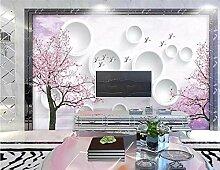 Fototapete 3D Effekt Tapete Kirschblüte